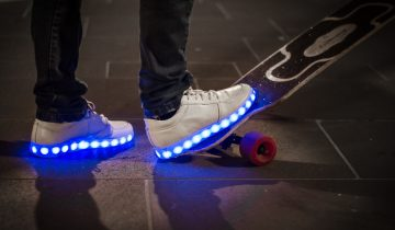 What are the light up shoes called and why do people love them?