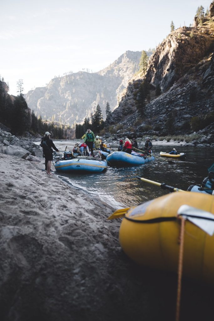 best shoes for white water rafting